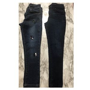 1 Children's Place Jeans & 1 Total Girl Jeans